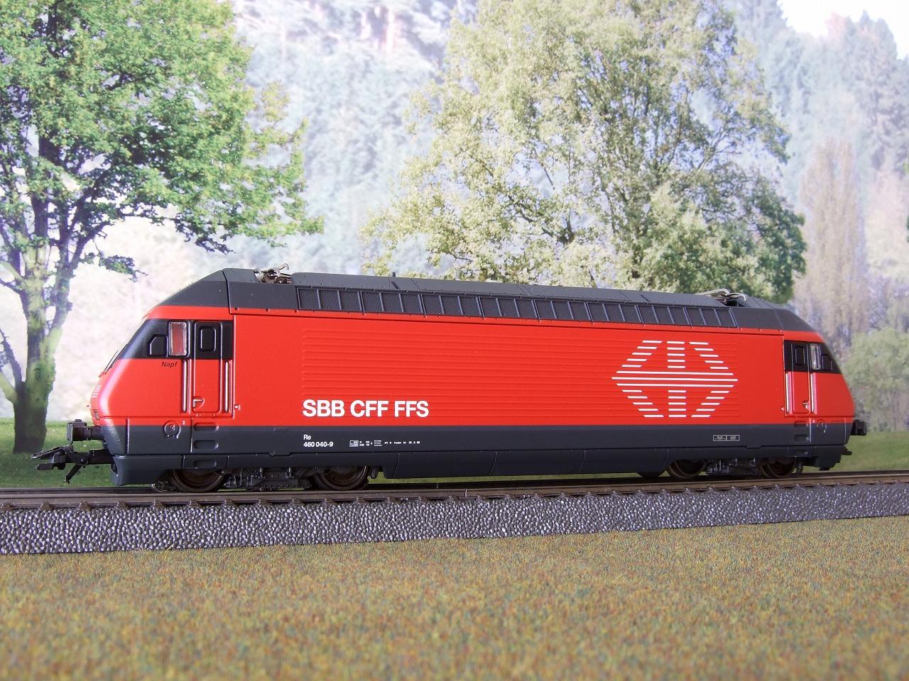 スイス国鉄電気機関車 Re460 そ...