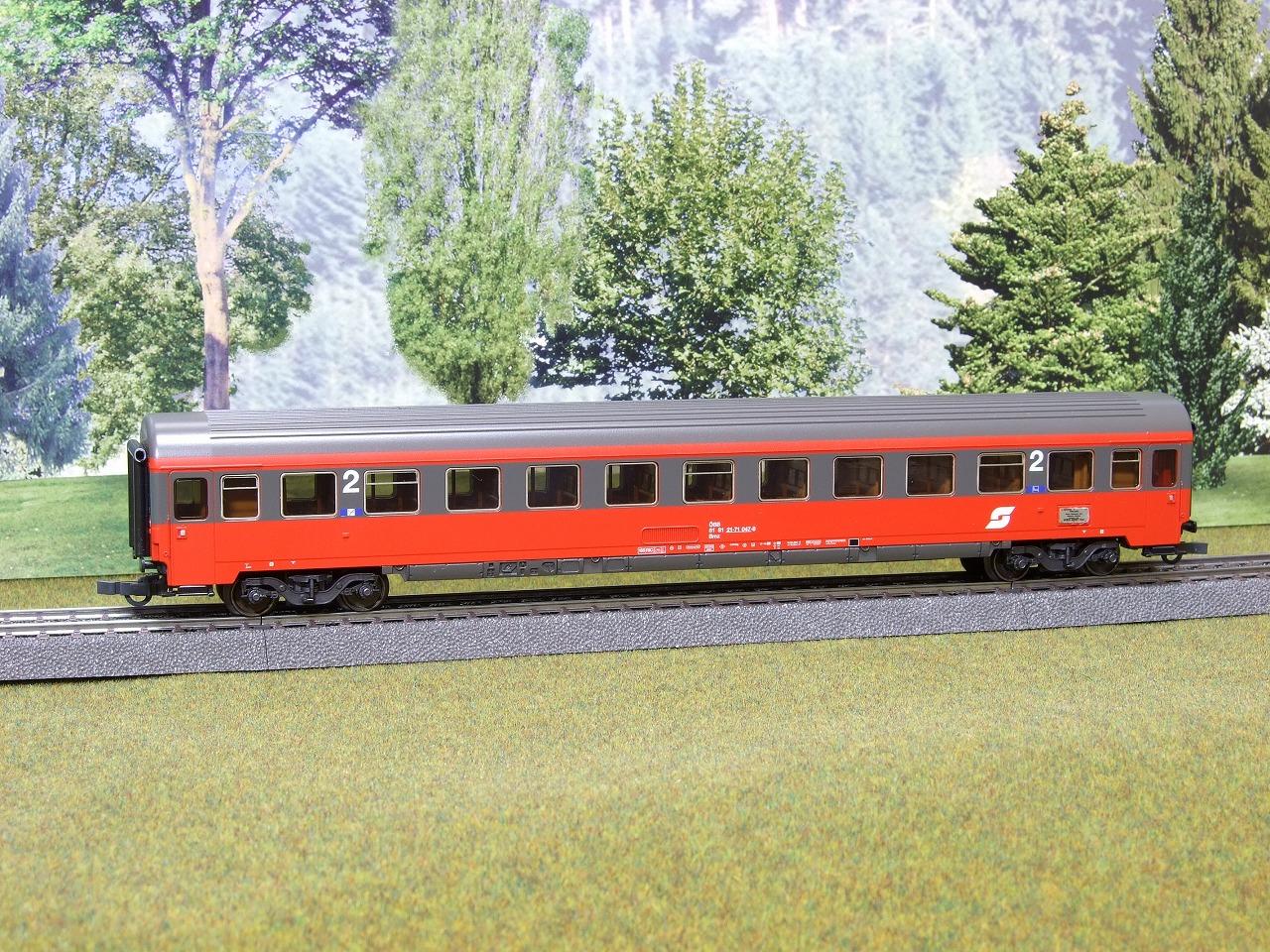 オーストリア国鉄(OeBB) 急行列車セット (42723) 2回目 2等車 その1: I.Y.